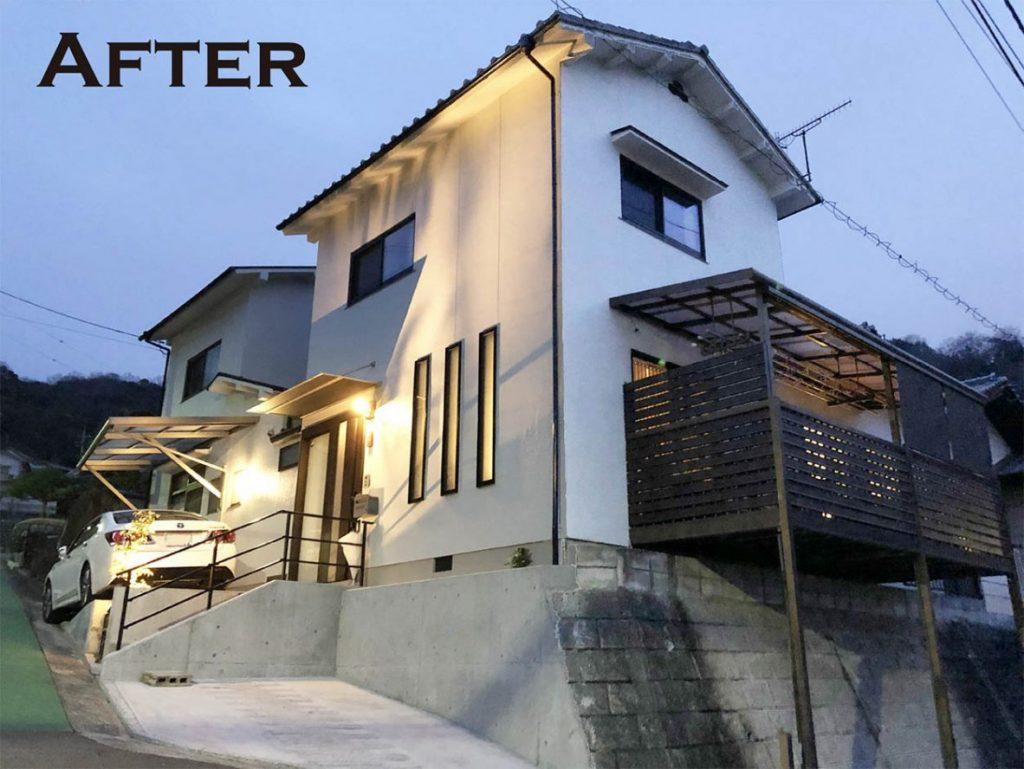 「広島市A様邸」お施主様の思いを詰めた『フルリフォーム』の家