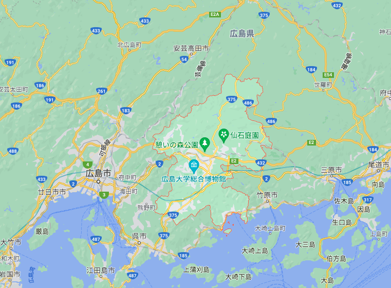 東広島市の人口動態