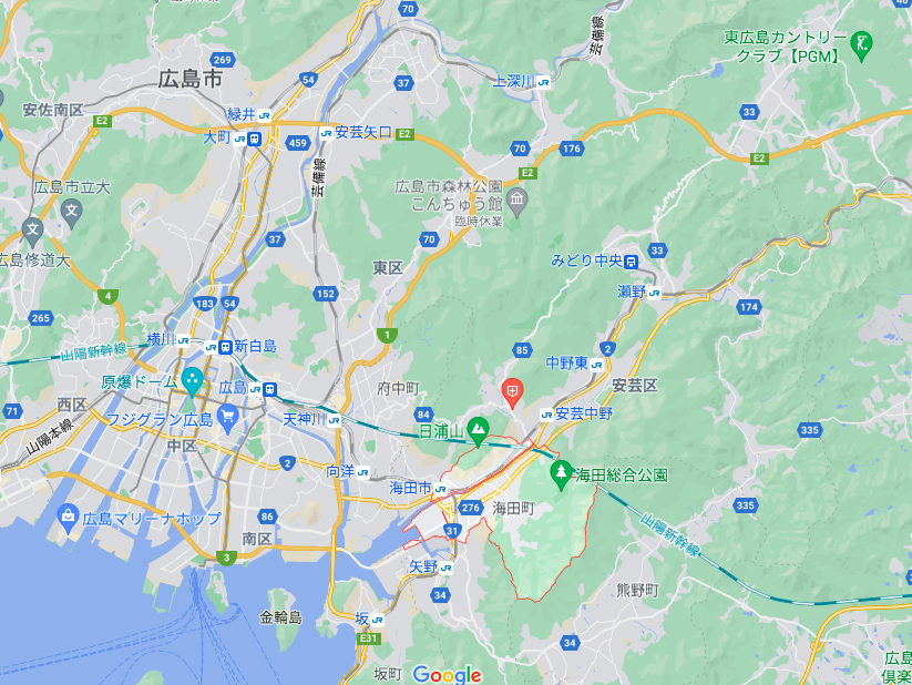 海田町の人口動態