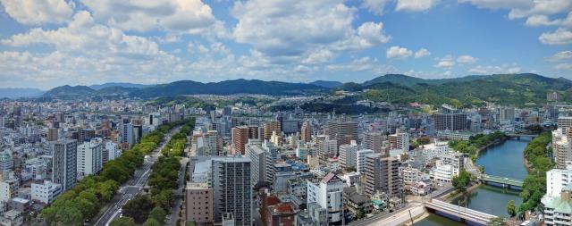 広島市の土地の値段
